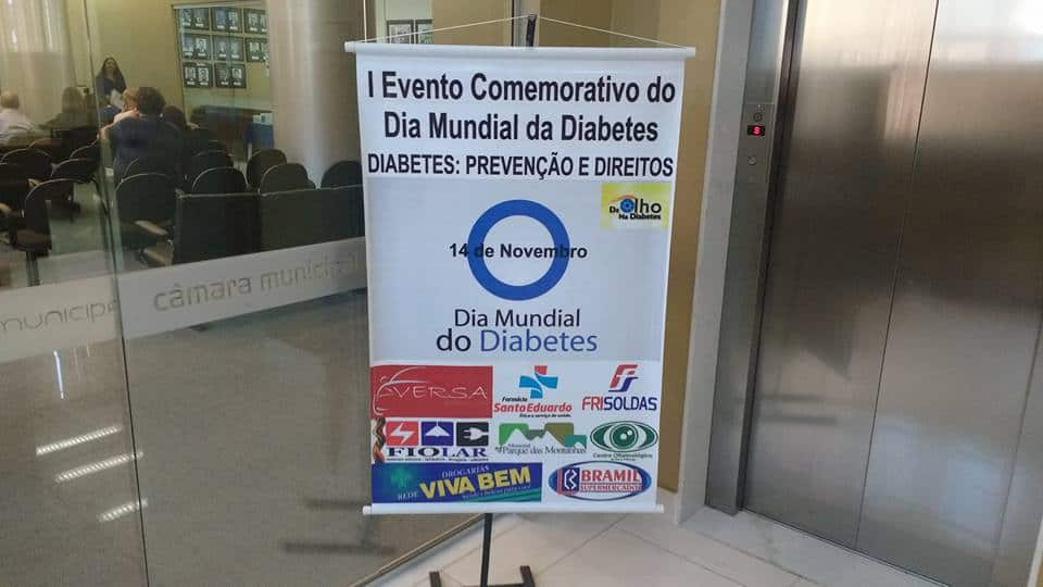 Evento Dia Mundial do Diabetes - Nova Friburgo
